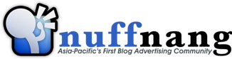 Nuffnang - Asia's First Blog Advertising Community